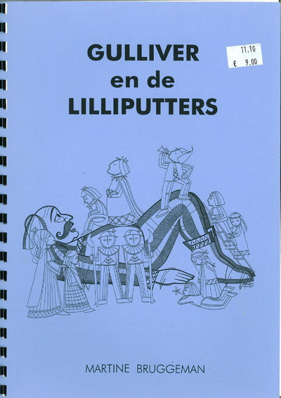 "Gulliver en de lilliputters (""Gulliver and the Lilliputians"") - Martine Bruggeman"