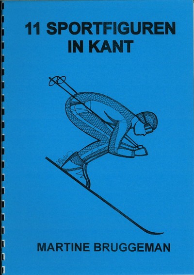 "Sportfiguren in kant (""Sports figures in lace"") - Martine Bruggeman"