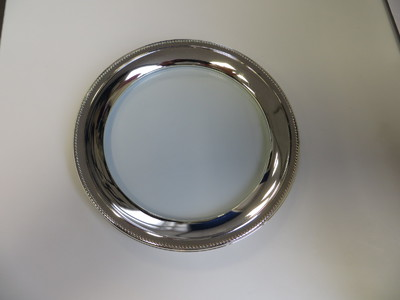 tray metal 20cm diameter