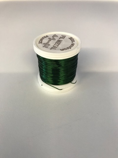 Metalthread 0.40mm - 20M green