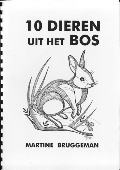 "10 dieren uit het bos (""10 animals in the wood"")- Martine Bruggeman"
