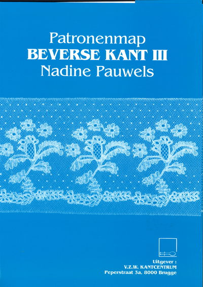 Patronenmap Beverse kant III (Map with patterns Beveren lace) - Nadine Pauwels